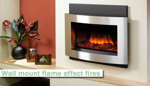 flame effect electric fires installed by A Mason Electrical sheffield