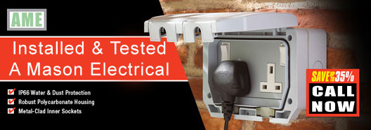 Garden Power - Weatherproof sockets - Sheffield Electrical